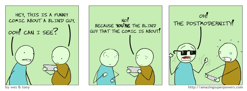 For best results, read this comic as a blind person.