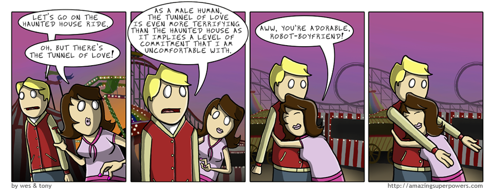What about robot girlfriends, you ask? You are accessing this comic from one right now.