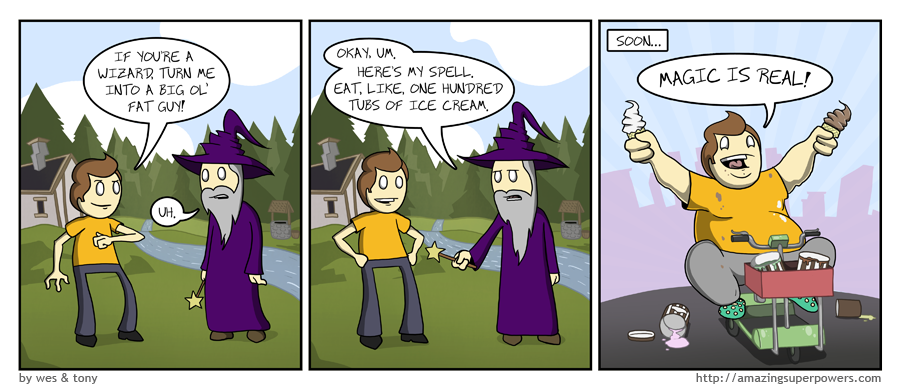 AmazingSuperPowers Webcomic At The Speed Of Light
